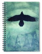 Over The Edges Spiral Notebook