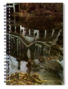 Over The Falls Spiral Notebook