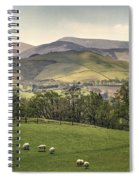 Over The Hills And Far Away Spiral Notebook