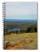Over The Horizon Spiral Notebook