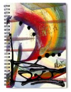 Over The Rainbow Spiral Notebook