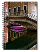 Over The River And Through The Buildings Spiral Notebook