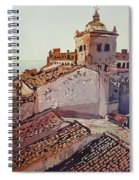 Over The Rooftops, Caceres Spiral Notebook