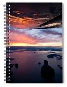 Over The San Juans Spiral Notebook