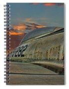 Over The Shoulder F-84g Spiral Notebook