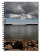 Overcast Spiral Notebook