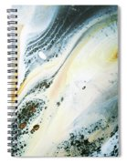 Overcast Sea Abstract Spiral Notebook