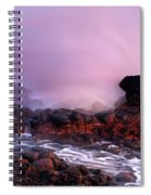 Overcome By The Tides Spiral Notebook