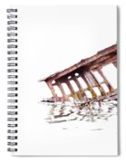Overexposed Peter Iredale Spiral Notebook