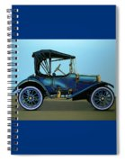 Overland 1911 Painting Spiral Notebook