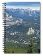 Overlook Banff Vista Spiral Notebook