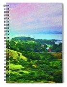 Overlooking San Francisco Bay Spiral Notebook
