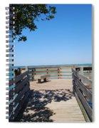 Overlooking Sarasota Bay Spiral Notebook