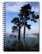 Overlooking The Bay Spiral Notebook