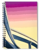 Overpass One Spiral Notebook