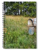 Overtaken By Time Spiral Notebook