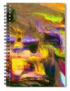 Overtaking Spiral Notebook
