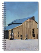 Owasa Barn 4 Spiral Notebook