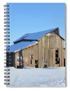 Owasa Barn Spiral Notebook