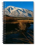 Owens River Valley Bishop Ca Spiral Notebook