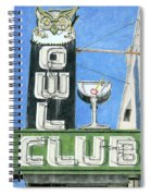 Owl Club Spiral Notebook
