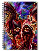 Owl Colors Wild. Spiral Notebook