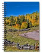Owl Creek Pass Road Spiral Notebook