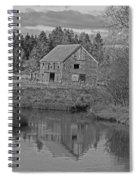 Owls Head Barn Spiral Notebook
