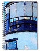 Owls Head Light House Spiral Notebook