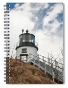 Owl's Head Lighthouse 4761 Spiral Notebook