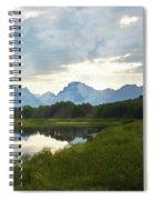 Oxbow Bend 13d Spiral Notebook