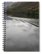 Oxbow Reservoir Wake Spiral Notebook