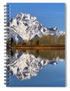 Oxbow Snake River Reflections Spiral Notebook