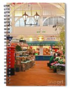 Oxford's Covered Market Spiral Notebook