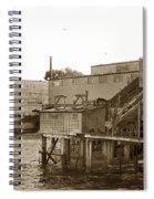 Oxnard Cannery Cannery Row 1977 Spiral Notebook