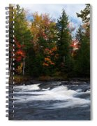 Oxtongue River Ontario Autumn Scenery Spiral Notebook