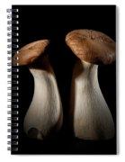 Oyster Mushrooms Spiral Notebook