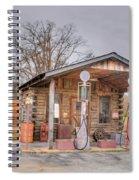 Ozark Car Filling Station Spiral Notebook
