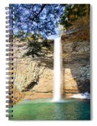 Ozone Falls Focus Spiral Notebook