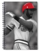 Ozzie Smith Spiral Notebook
