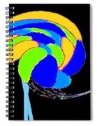 Ozzie The Ostrich Spiral Notebook