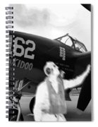 P-38 Ghost Flight Spiral Notebook