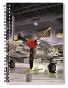 P-38 Lighting Marge Spiral Notebook