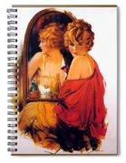 p rarmstrong 026 Rolf Armstrong Spiral Notebook