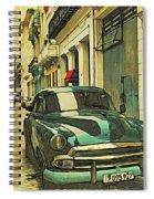 P Zero Nine Five Black Spiral Notebook