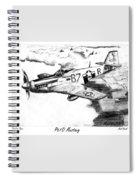 P51d Mustang Spiral Notebook