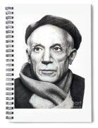 Pablo Picasso Spiral Notebook