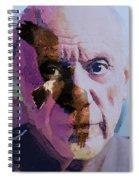 Pablo Picasso Portrait  Spiral Notebook