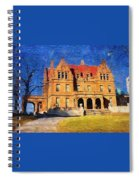 Pabst Mansion Spiral Notebook