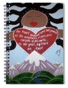 Pachamama Spiral Notebook